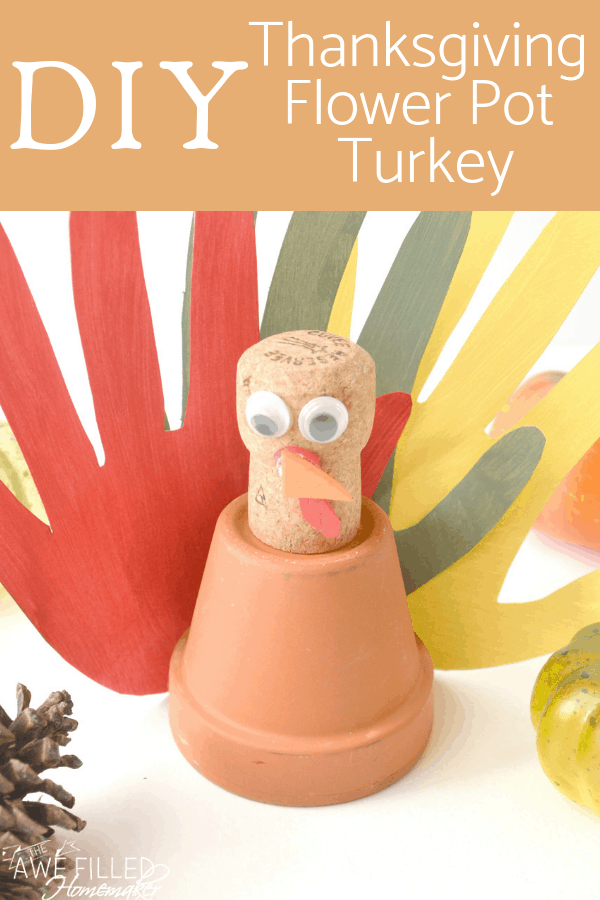 Thanksgiving Flower Pot Turkey
