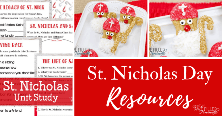 St Nicholas Day Resources!