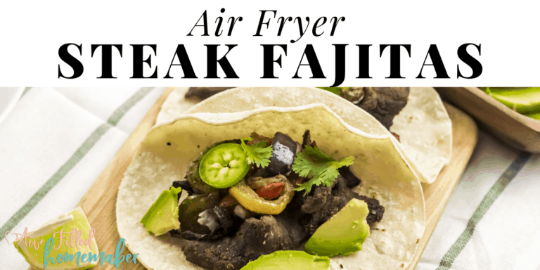 Air Fryer Steak Fajita's