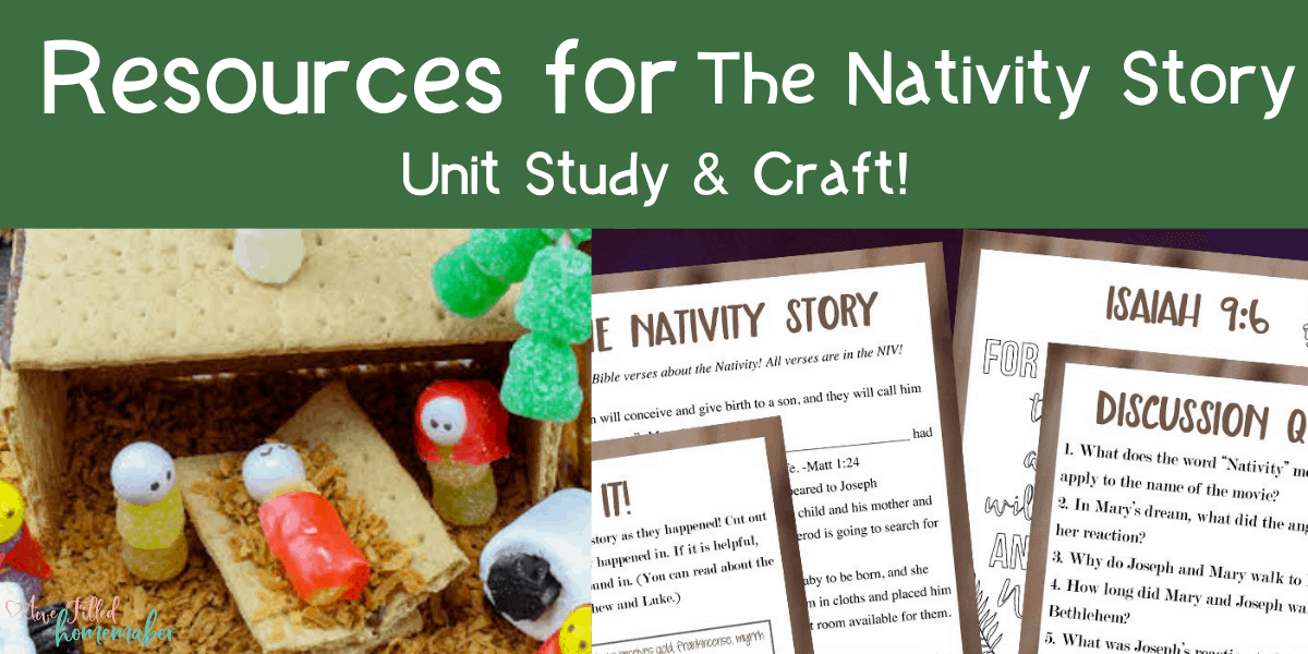 Resources For The Nativity Story