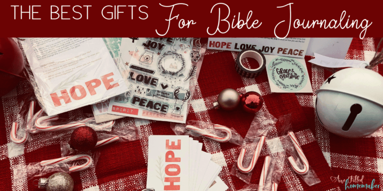 The Best Gifts For Bible Journaling