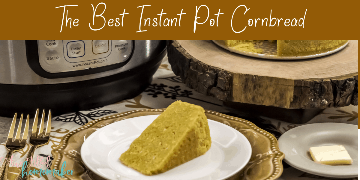 The Best Instant Pot Cornbread {Allergy Friendly}