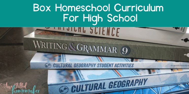 Box Curriculum for High School