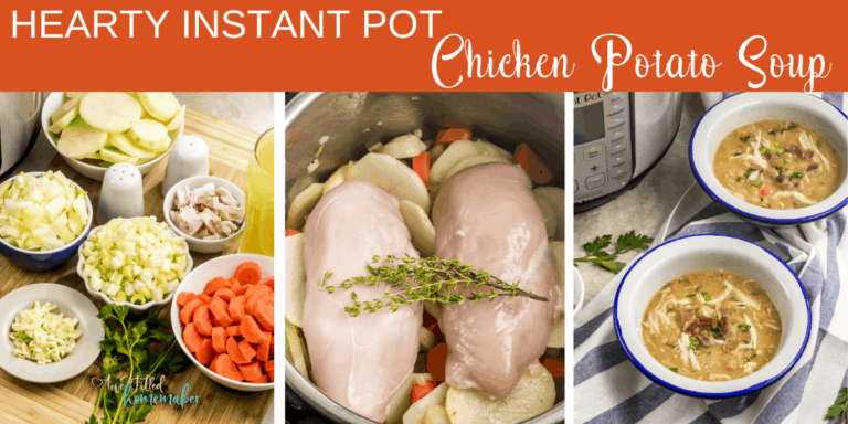 Hearty Instant Pot Chicken Potato Soup