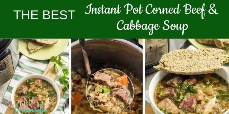 The Best Instant Pot Corned Beef & Cabbage Soup