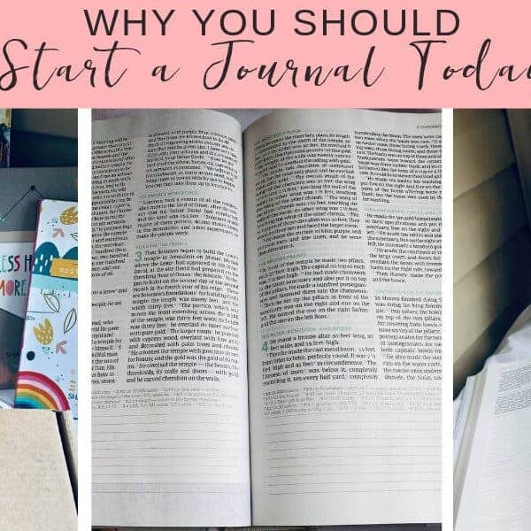 Why You Should Start A Journal Today