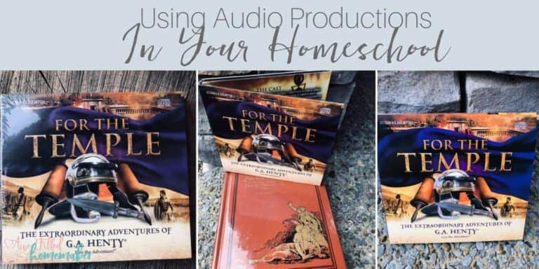 Using Audio Productions In Your Homeschool