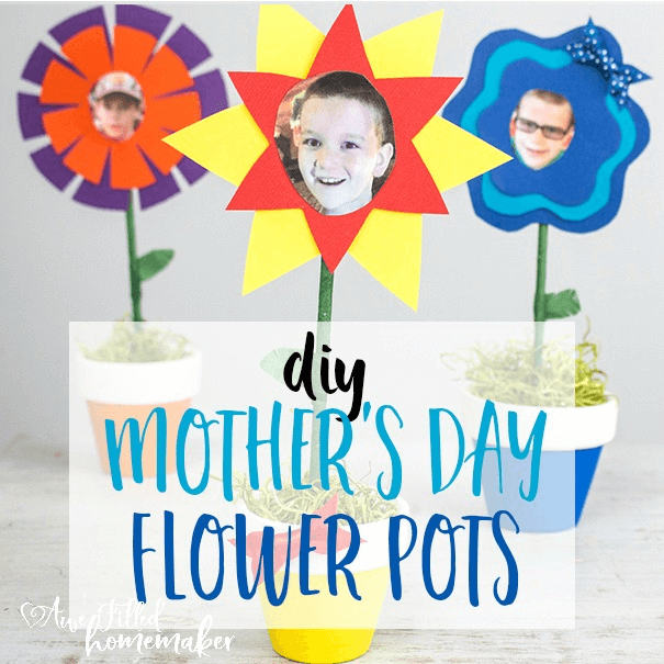 DIY Mother's Day Flower Pots!