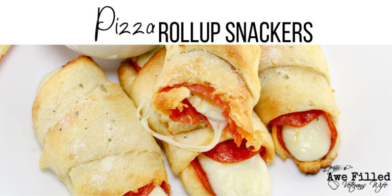 Pizza Rollup Snackers