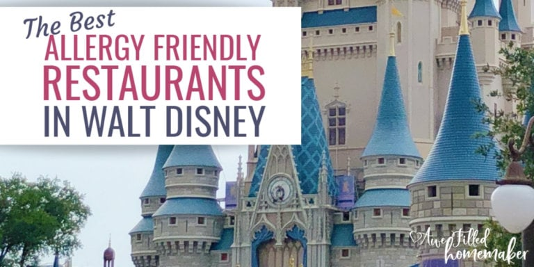 The Best Allergy Friendly Restaurants in Walt Disney World