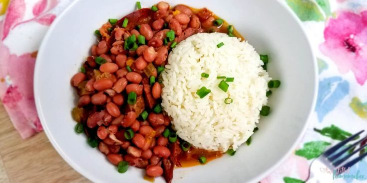 The Best Instant Pot Red Beans & Rice