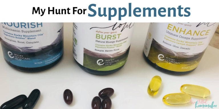 My Hunt For Supplements