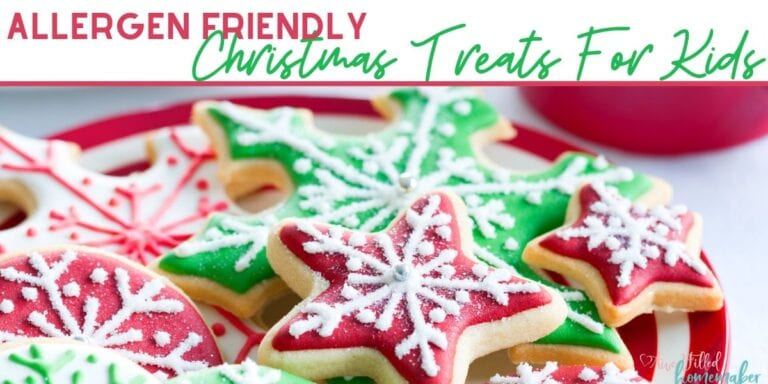 Allergen Friendly Christmas Treats For Kids