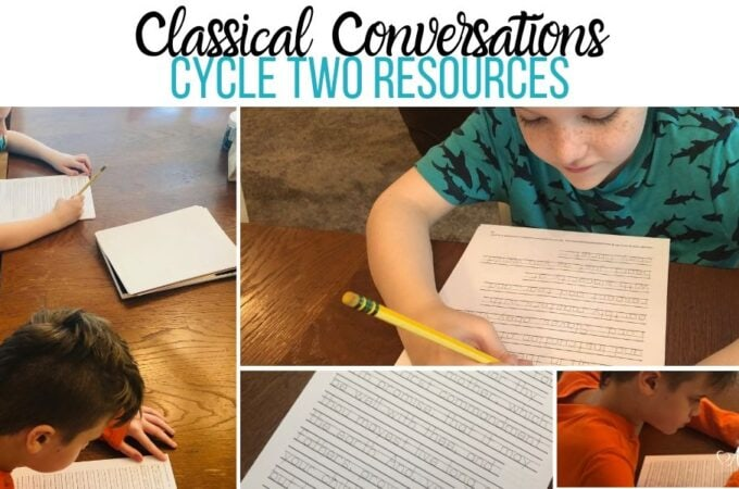 Classical Conversations Cycle Two Resources