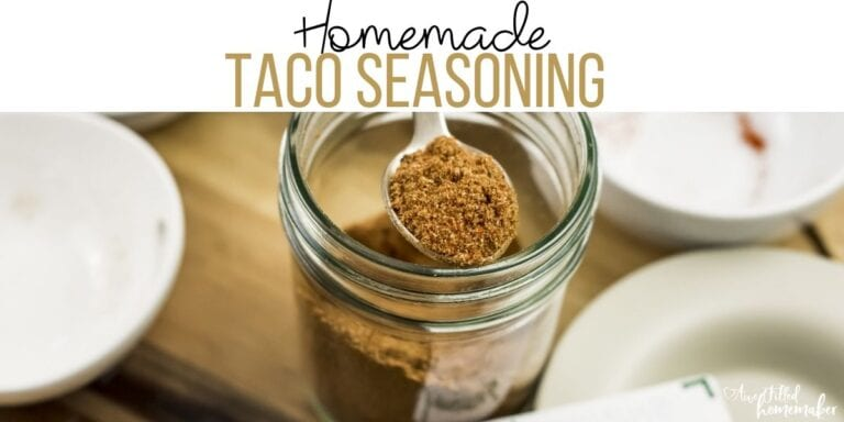 Homemade Taco Seasoning (Low Sodium & Soy Free!)