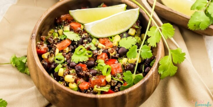 Instant Pot Black Bean & Quinoa Salad
