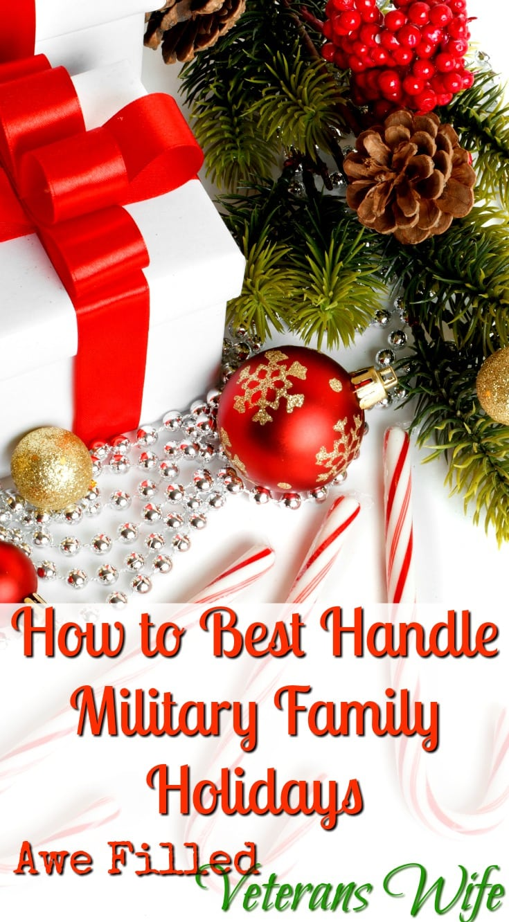 How to Best Handle Military Family Holidays