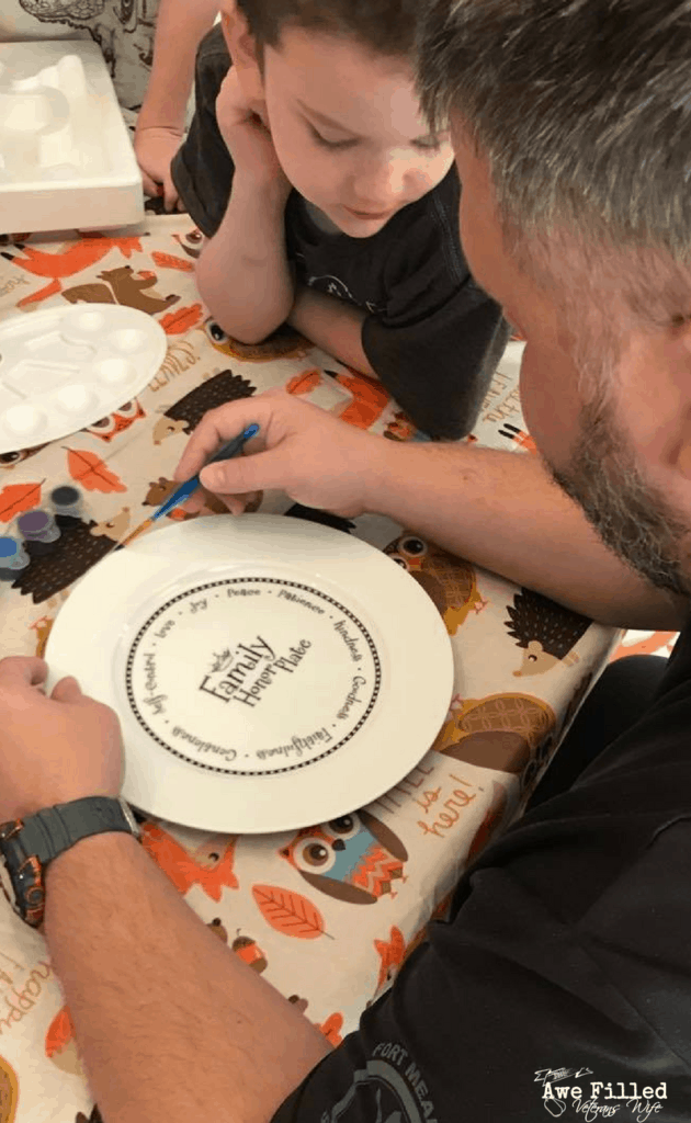 Using Art Therapy With the Honor Plate For PTSD