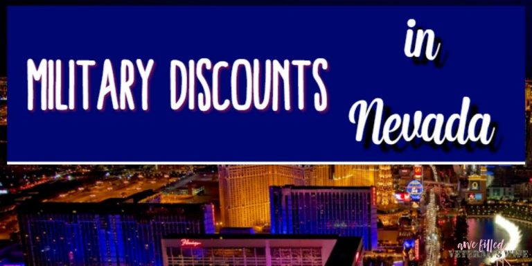 Military Discounts in Nevada