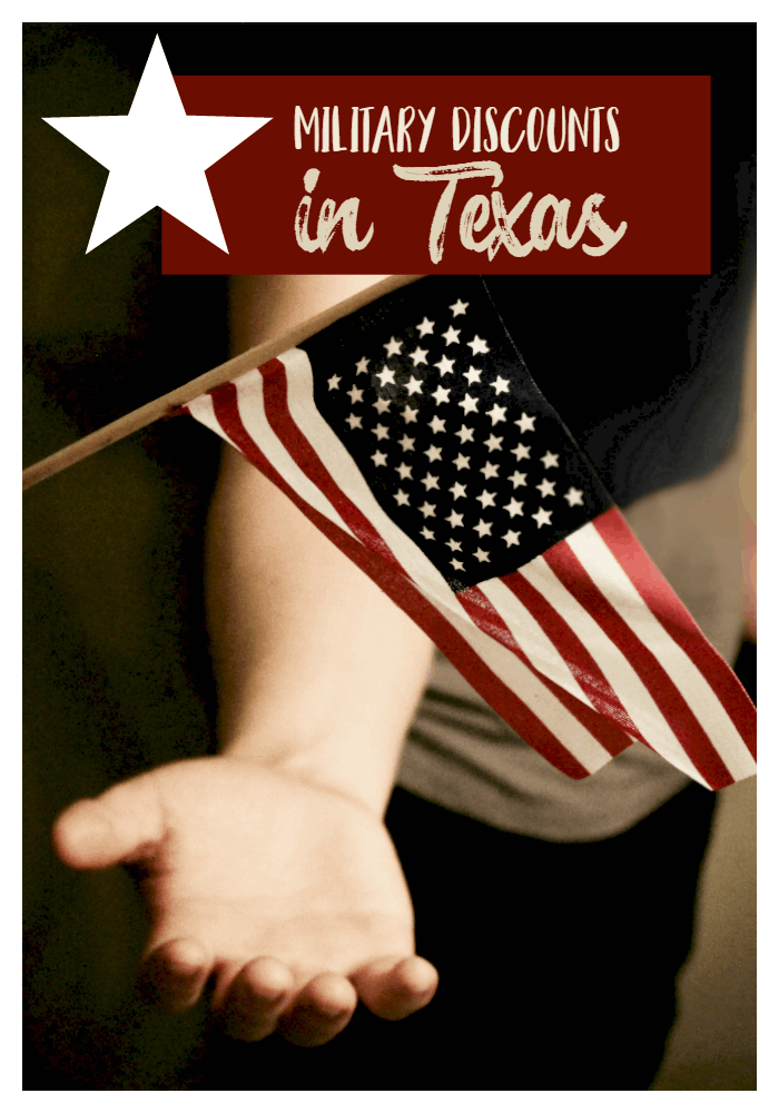 Military Discounts in Texas