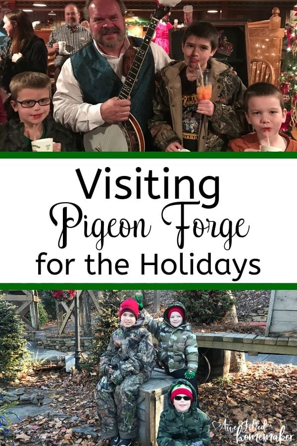 Visiting Pigeon Forge For The Holidays