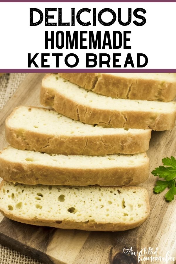 Delicious Homemade Keto Bread