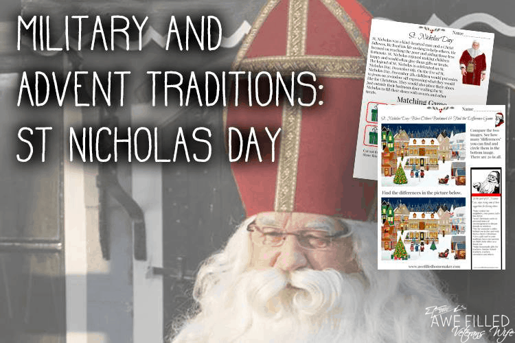 Military & Advent Traditions: St Nicholas Day