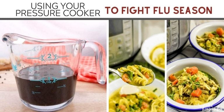 Using Your Pressure Cooker To Fight Flu Season