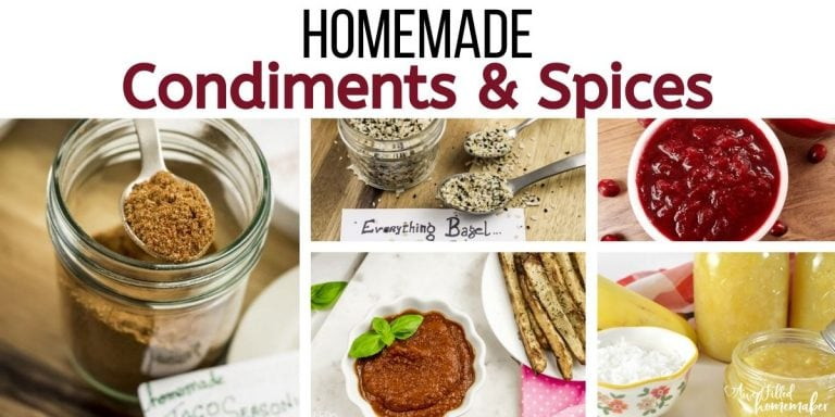 Homemade Condiments & Spices