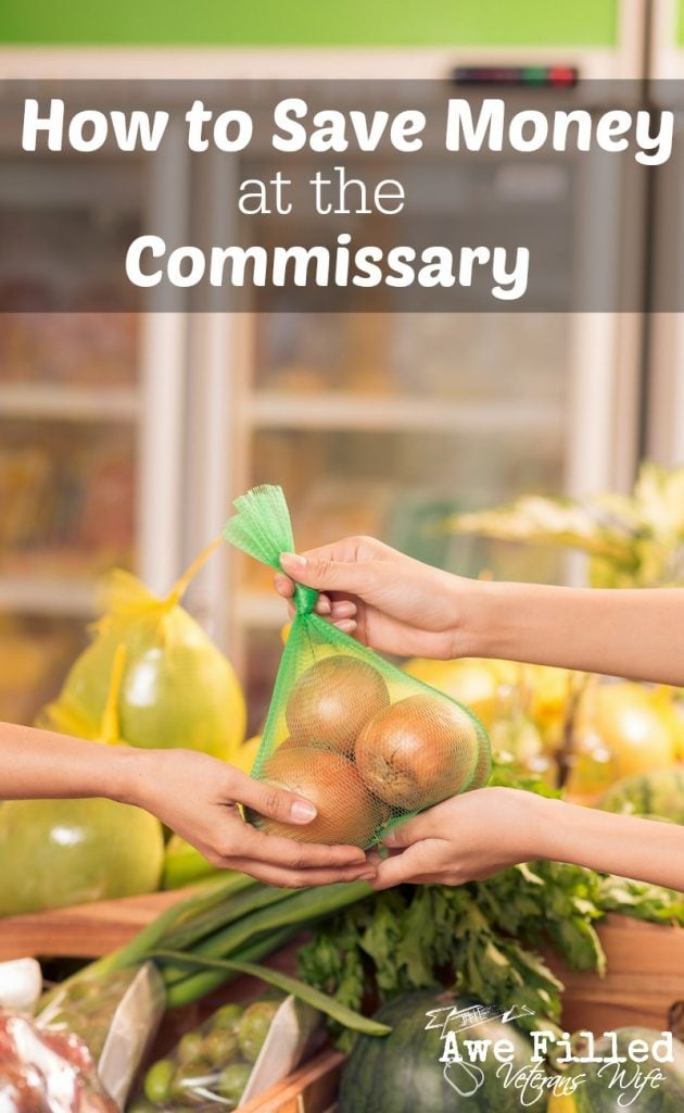 How To Save Money At The Commissary