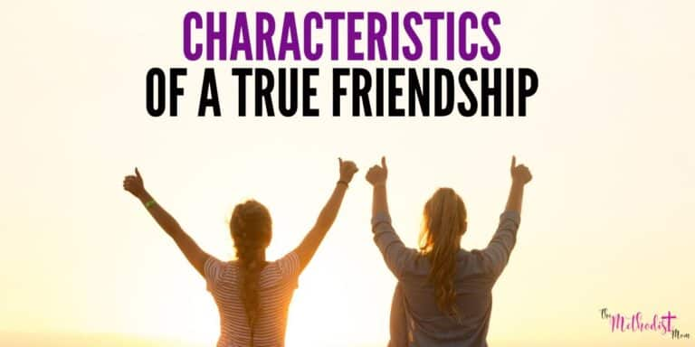 Characteristics of a True Friendship