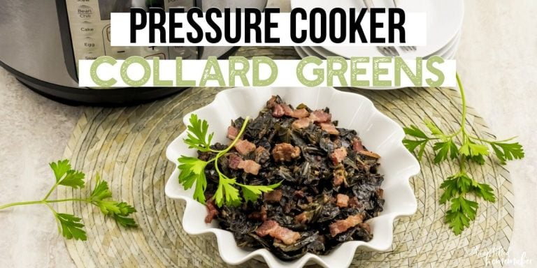 Pressure Cooker Collard Greens