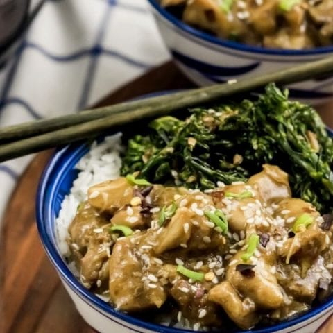 Instant Pot Sweet and Spicy Asian Chicken Bowls