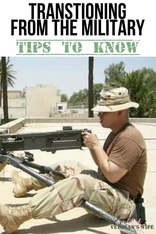 Transitioning From the Military -Tips to Know