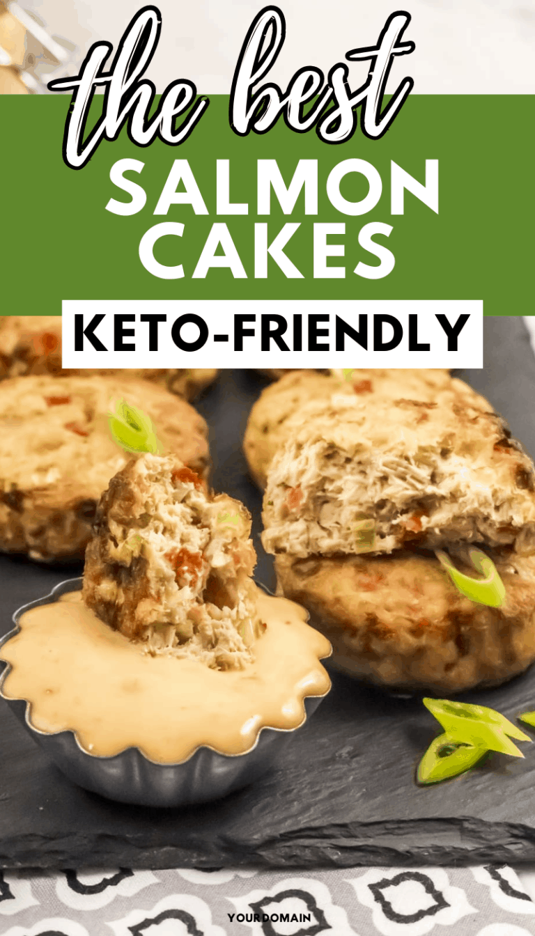 Air Fryer Keto Bang Bang Salmon Cakes