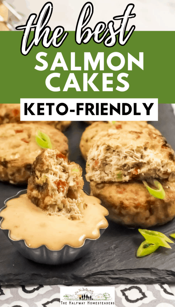 keto salmon cakes recipe, high protein recipe, keto recipe that is healthy as well using air fryer recipe method