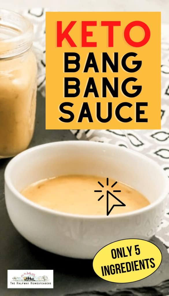 keto bang bang sauce, keto dip for healthy snacks