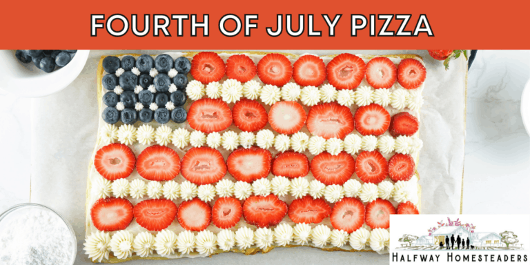 Fourth Of July Pizza