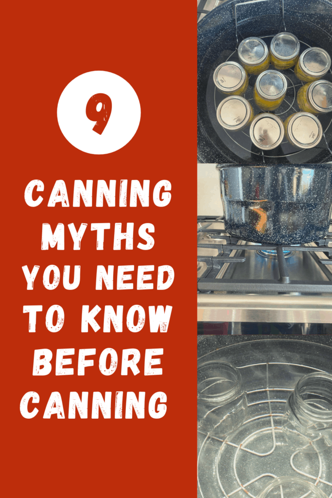 canning myths you need to know
