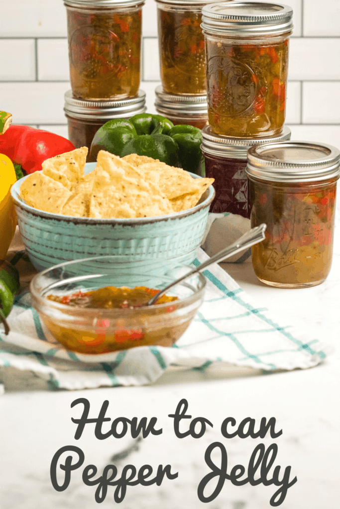 how to can pepper jelly